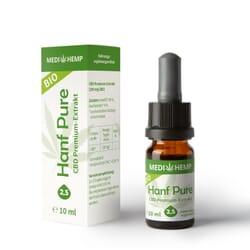 Bio Hanföl Pure mit 2,5 % CBD