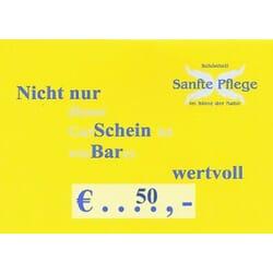GUTSCHEIN €50,-